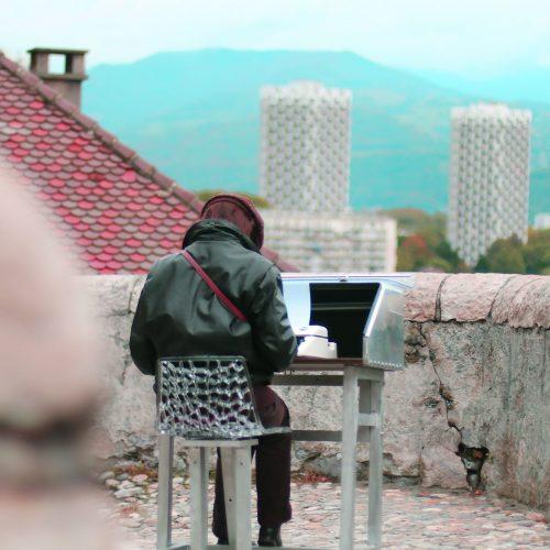 Fabularium machine à écrire